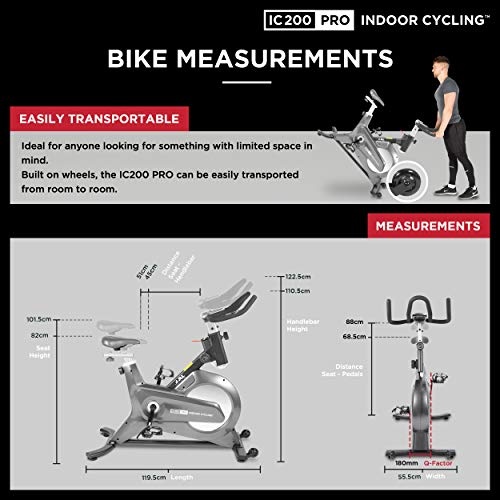 JLL IC200 PRO Indoor Cycling Bike