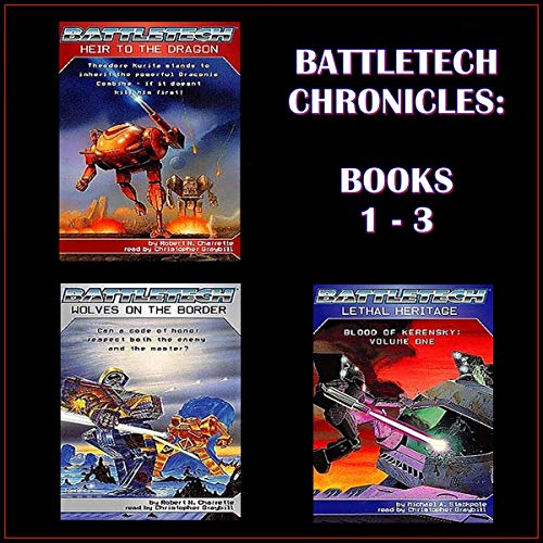Battletech Chronicles Books 1-3  By  cover art