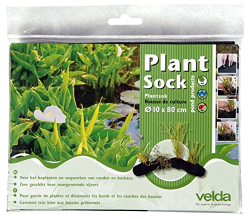 Velda 127594 Pflanzkorb für Teichpflanzen, 10 x 80 cm, Plant Sock
