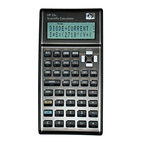 HP 35s Programmed for The Electrical & Computer Engineering FE Exam