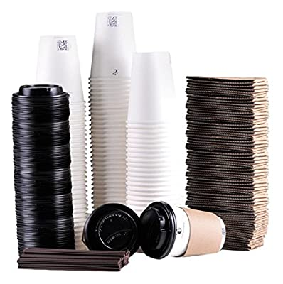 Luckypack Disposable Coffee Cups