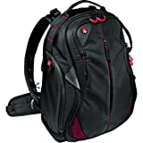 Manfrotto Bumblebee-130 PL Professional Photography Camera Backpack, for Mirrorless, Reflex, Professional Video Cameras and Accessories, with Pocket for 15' PC and an Internal Divider System - Black