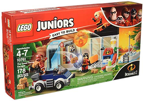 LEGO Juniors/4+ The Incredibles 2 The Great Home Escape 10761 Building Kit review