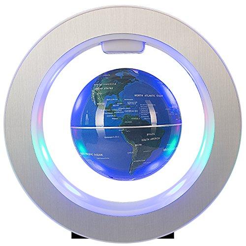 Senders Floating Globe With LED Lights Magnetic Levitation Floating Globe World...