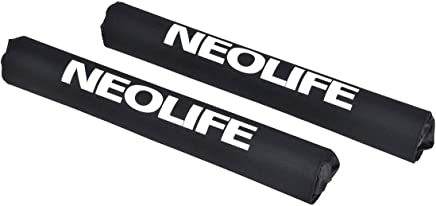 Neolife Car Roof Rack Pads for Surfboard Kayak SUP Snowboard Racks 19Inch/28Inch Long Large Aero Bars [Pair]