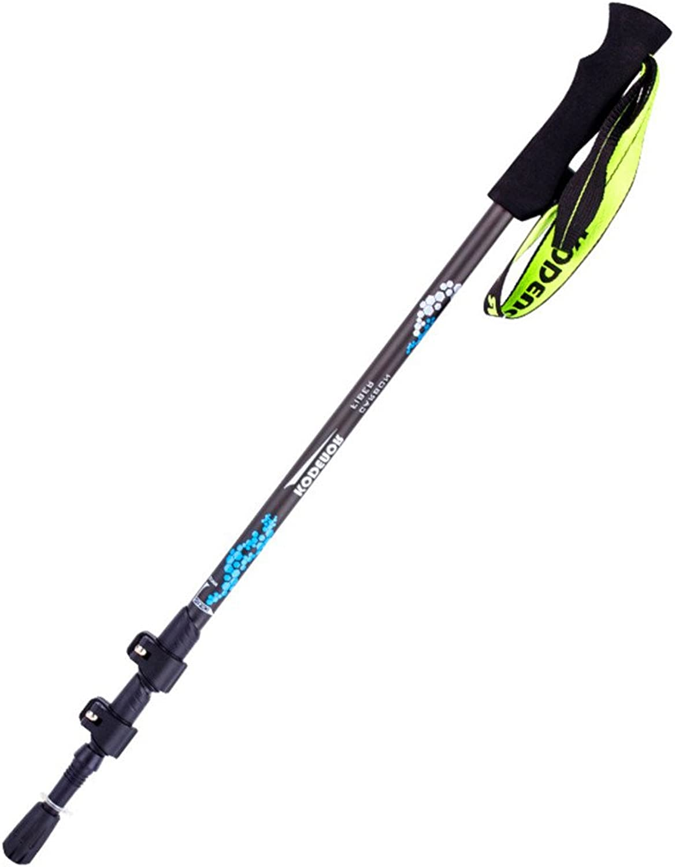 Alpenstocks Locking Carbon Fiber Folding Three-Section Retractable Walking Sticks Walking Lightweight Walking Sticks,for Outdoor Sport and so on