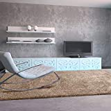 UNIVERSAL Alfombra salón Aqua Liso Beig 57x110 cm
