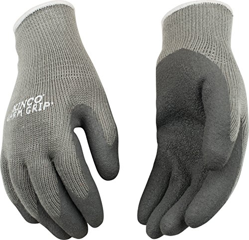 Find Discount Kinco 1790W Warm Grip Thermal Latex Coated Women's Glove, Work, Small, Gray (Pack of 1...