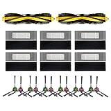 Uniquk para Deebot Ozmo T8 Piezas de Robot Aspirador Cepillo Principal Cepillo Lateral Filtro Hepa Accesorio Reemplazable