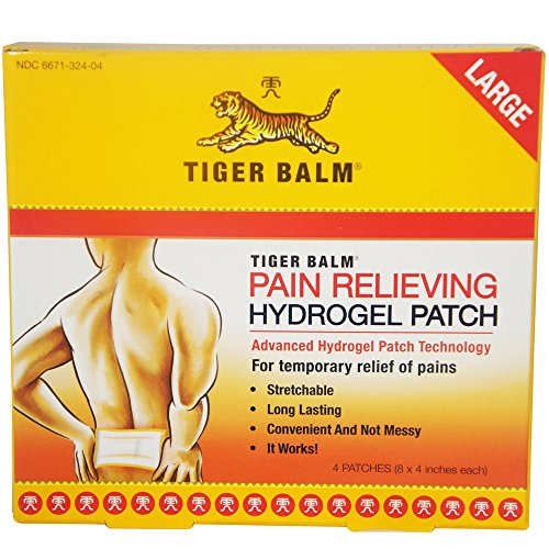 Top tiger balm patch large 4 each for 2020