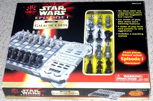Star Wars Episode I Electronic Galactic Chess