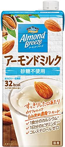 スマートマットライト  アーモンド・ブリーズ 砂糖不使用 1L ×6本