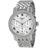 Tissot Men's Bridgeport 42mm Steel Bracelet Automatic Watch T097.427.11.033.00