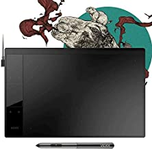 """VEIKK A30 Graphics Drawing Tablet Pen Tablet with 8192 Levels Battery-Free Pen - 10"""" x 6"""" Active Area 4 Touch Keys and a T..."""