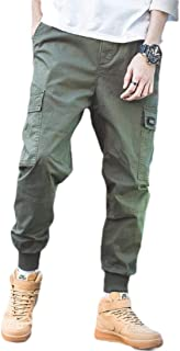 Jmwss QD Men's Cargo Pant Slim Casual Jogger Pant Chino Trousers Sweatpants
