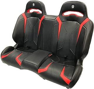 Pro Armor LE Suspension Bench UTV Complete Seat Red 2015-2020 Polaris RZR S4 XP 4 1000 Turbo S