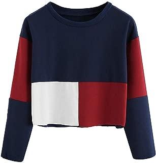 StylePick Maroon Navy White Cotton Round Neck Tshirt for Women