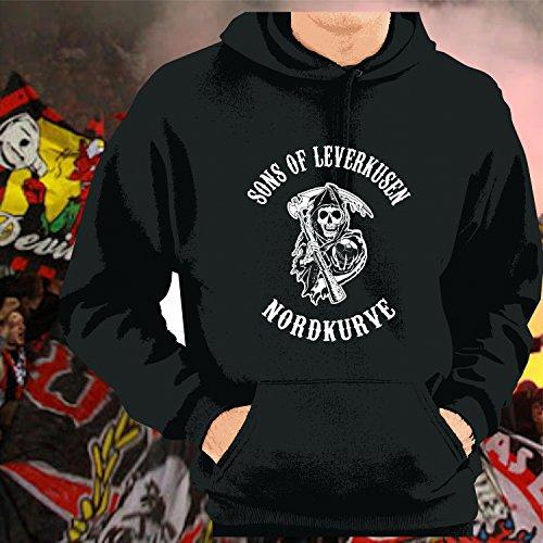 World of Football Kapuzenpulli Sons of Leverkusen Nordkurve - XXL