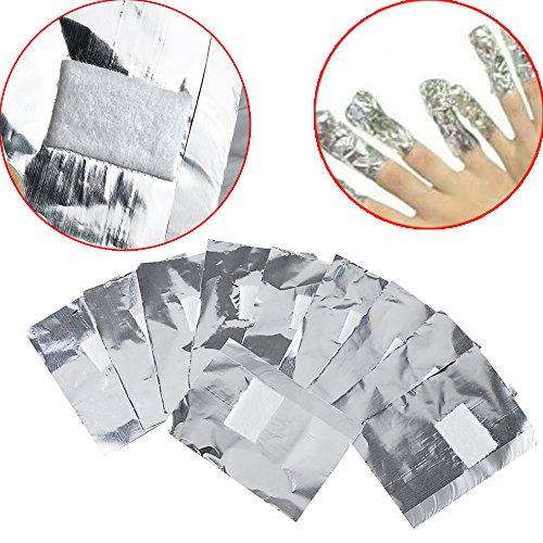 Vanyda 200 Nail ArtSoak-Off-Folienwickel, Entfernungsgel für Gel- und Acryl-Nagellack.