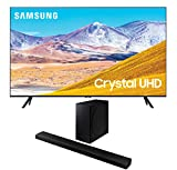 Samsung UN55TU8000 55' 8 Series Ultra High Definition Smart 4K Crystal TV with a Samsung HW-Q800T 3.1.2 Ch Dolby Atmos Soundbar and Wireless Subwoofer (2020)