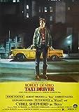 CoolPrintsUK Poster Taxi Driver Borderless Vibrant Premium