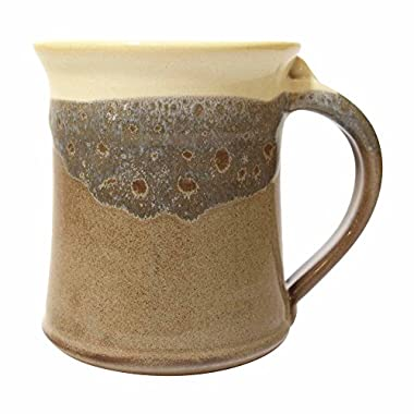 Clay In Motion Handmade Ceramic Medium Mug 16oz - Desert Sand