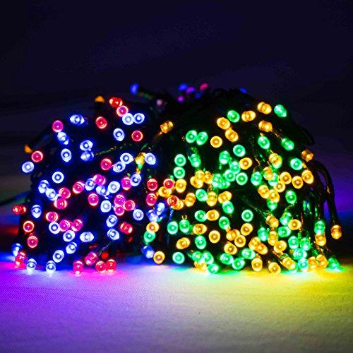 480Multi Action LED Supabrights Lichterkette mit Christmas Lights (Mehrfarbig)