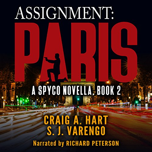 Assignment: Paris audiobook cover art
