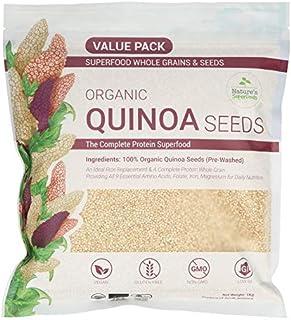 Nature's Superfoods Organic White Quinoa Seeds 1kg