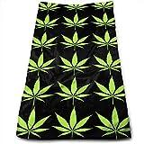 Bert-Collins Towel Toallas de Playa Green Weeds Toallas de Playa 80x130cm