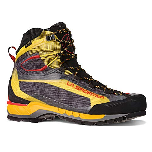 La Sportiva Trango TECH GTX Hiking Shoe, Black/Yellow, 43