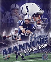 Peyton Manning - Indianapolis Colts - 3-Time M.V.P. 8