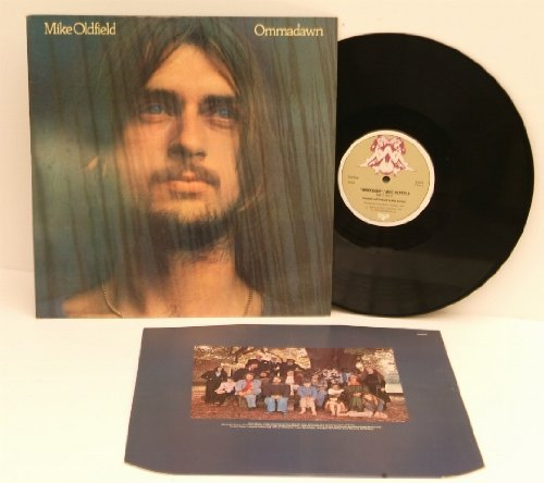 MIKE OLDFIELD Ommadawn. TOP COPY. First UK pressing buff colour virgin label