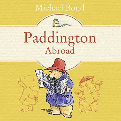 Paddington Abroad audiobook cover art