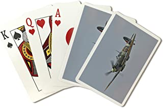 Supermarine Spitfire (Playing Card Deck - 52 Card Poker Size with Jokers)