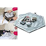 Drawstring Makeup Bag - Travel, Toiletry & Cosmetic Organizer - Daily Use & Ideal for Gifts - Magic Cosmetic Bag - Portable Makeup Bag for ladies