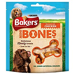 Bakers Mini Bones Chicken Dog Treats 94g – Case of 6 (564g)