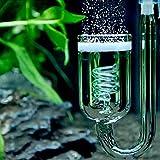 Difusor de CO2 burbujas atomizador cuentabollas cristal dióxido de carbono acuario V1