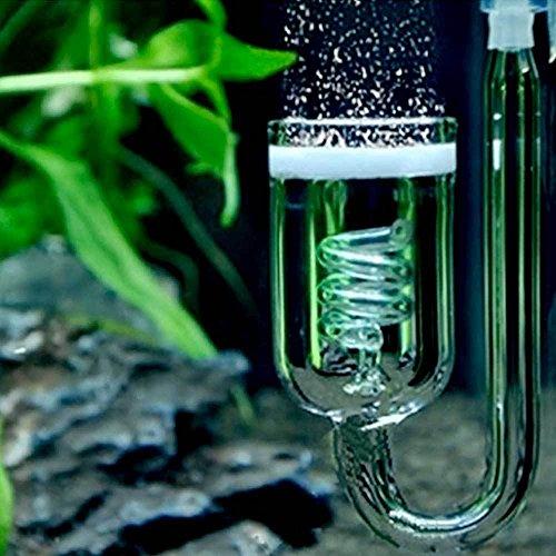 Difusor CO2burbujas atomizador contabolle vidrio CO2acuario