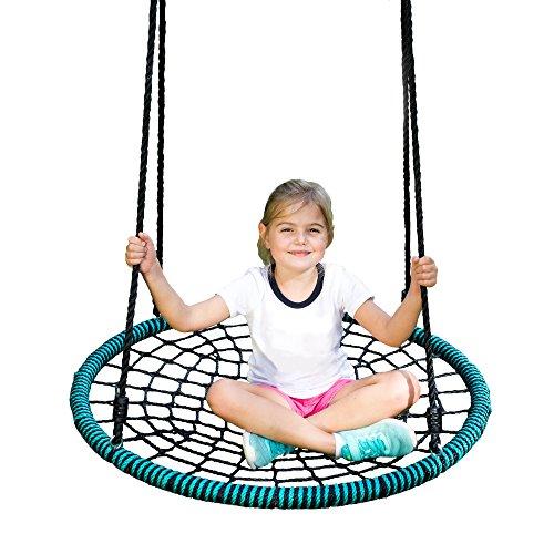 Play Platoon Spider Web Tree Swing - 40 Inch...