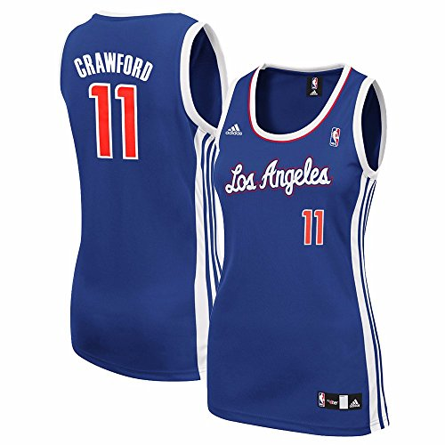 adidas Jamal Crawford Los Angeles Clippers NBA Women's Blue Replica Jersey (L)