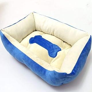 Nfudishpu Soft Pet Warm Large Dog Golden Retriever Kennel Nest Square Angle Bone Socket Cat Dog Mattress