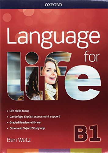 Language for life B1. Super premium.Student's book wb  with obk with study app with 16 eread with 1 online test [Lingua inglese]