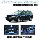 2006 Ford Freestyle Camshafts & Components - XtremeVision Interior LED for Ford Freestyle 2005-2007 (6 Pieces) Cool White Interior LED Kit + Installation Tool