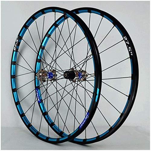 TYXTYX Rueda MTB 26 27.5 pulgadas bicicleta Ciclismo llanta bicicleta montaña rueda 24H disco freno 7-12speed QR Cassette Hubs Sealed Bearing 1800g