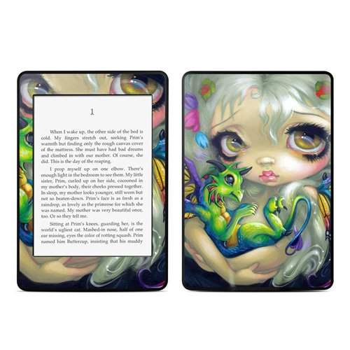 Kindle Paperwhite Skin Kit/Decal - Dragonling - Jasmine Becket-Griffith