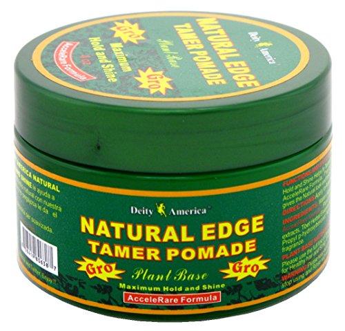 Deity Pommade pour les cheveux Natural Edge - Tenue et brillance maximale - A base d'extraits de plante - 118 ml