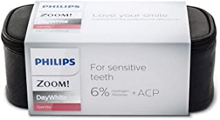 Zoom 6% Day White Hydrogen Peroxide Teeth Whitening Gel Complete Kit | 6 x 2.4gram Syringes | Zipper Bag & Mouth Tray Case...