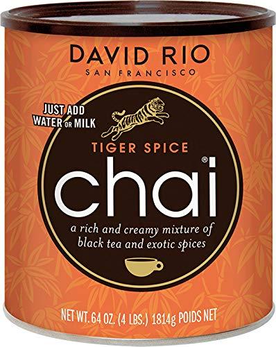 David Rio Chai Tiger Spice aus San Francisco, Dose (1x1814g)