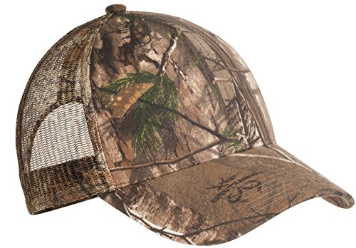 Port Authority Men's Pro Camouflage Series Cap with Mesh OSFA Realtree Xtra